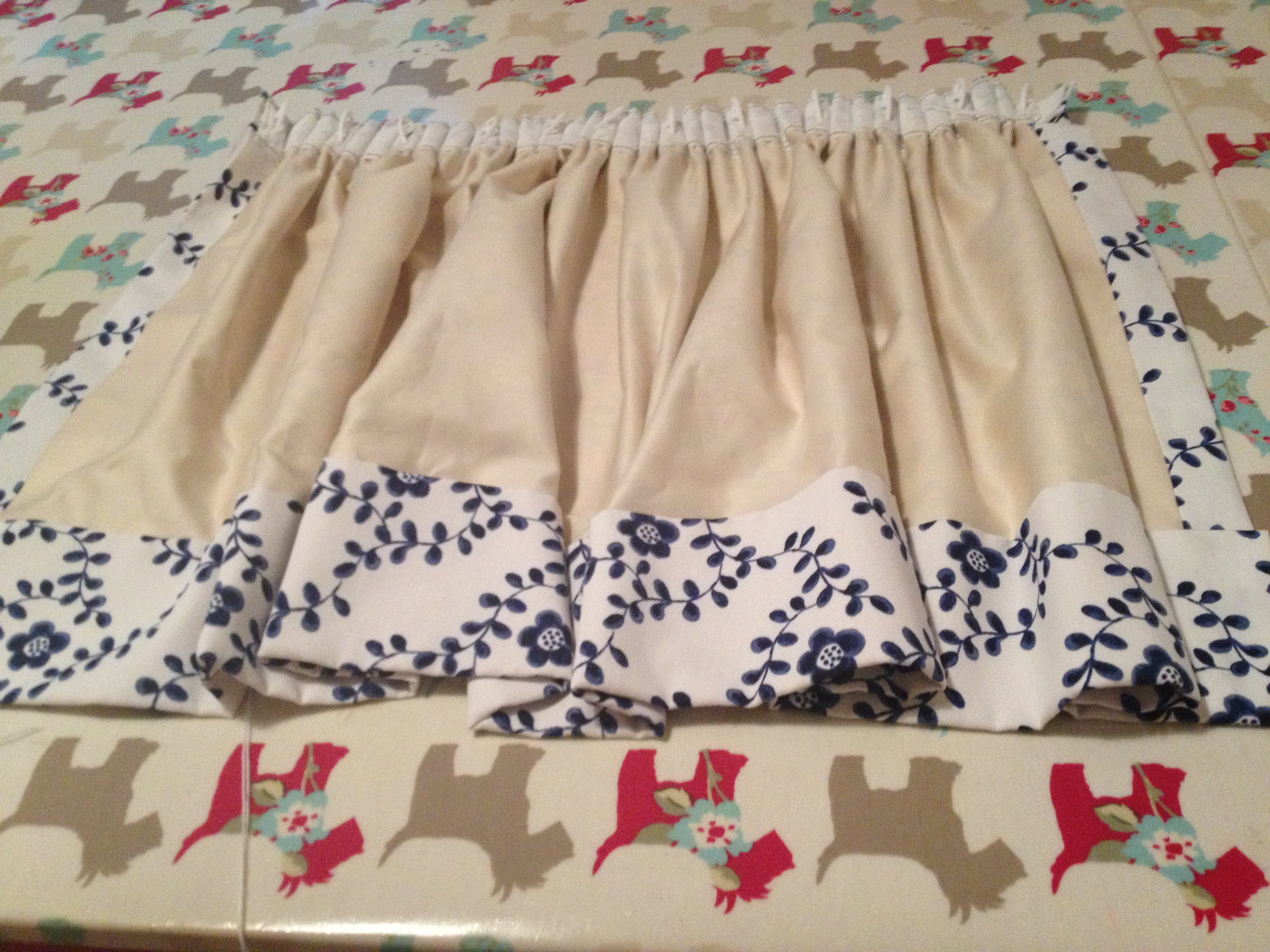 Pencil Pleat Lined Curtains