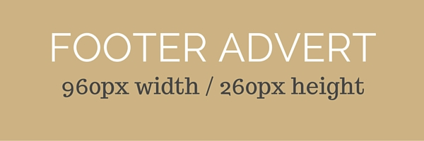 Footer advertisement