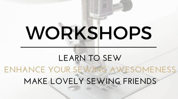 The Avid Seamstress workshops