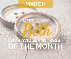 March Avid Seamstress of the Month