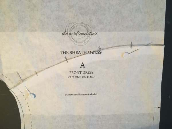 The Sheath Dress Pattern Hack by The Avid Seamstress