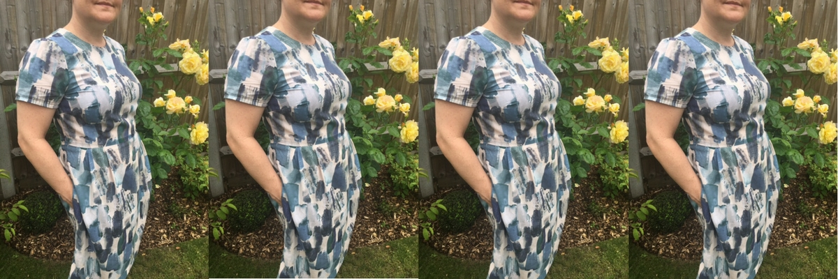 Day Dress Pattern Hack Pleated Skirt