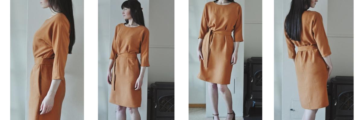 The Sheath Dress made by Miriam