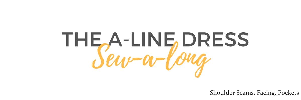 A-Line Dress Sew A Long