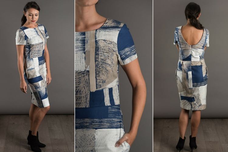 The Shift Dress sewing pattern by The Avid Seamstress