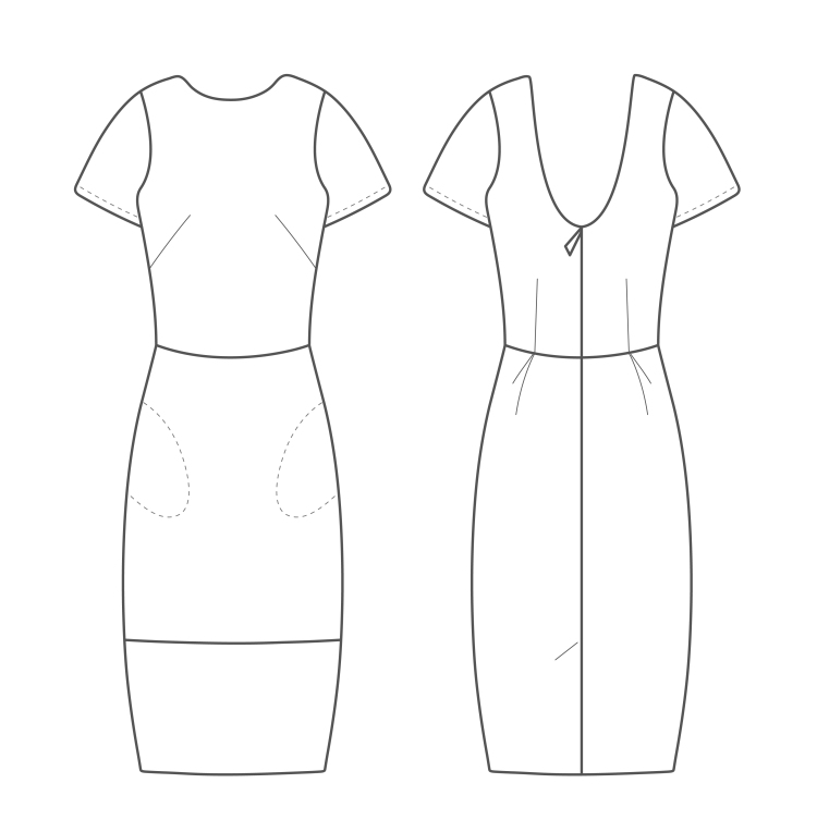 The Shift Dress Sewing Pattern
