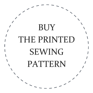 Printed Sewing Pattern