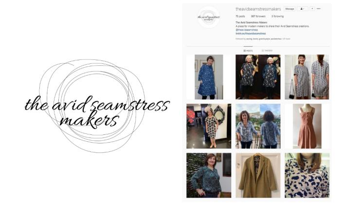 avid seamstress makers instagram
